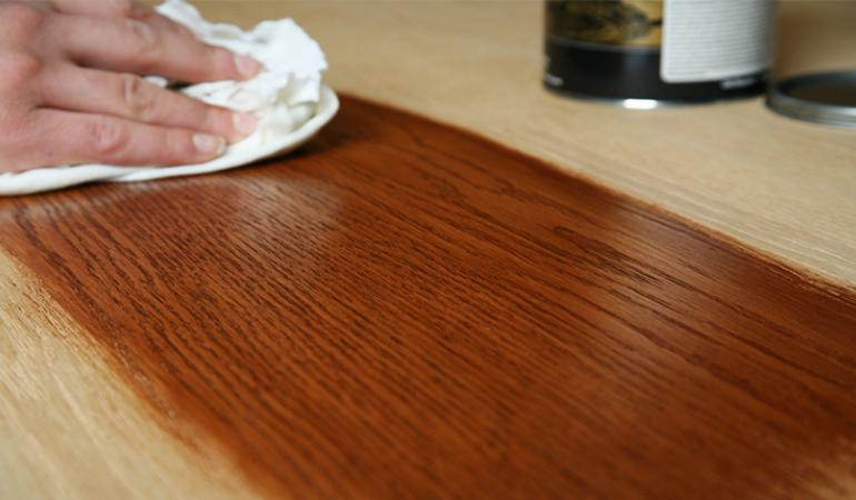 Stain Selection & Application | Old Masters