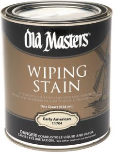 Wiping Stain Old Masters